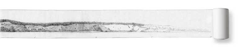 Panorama drawing